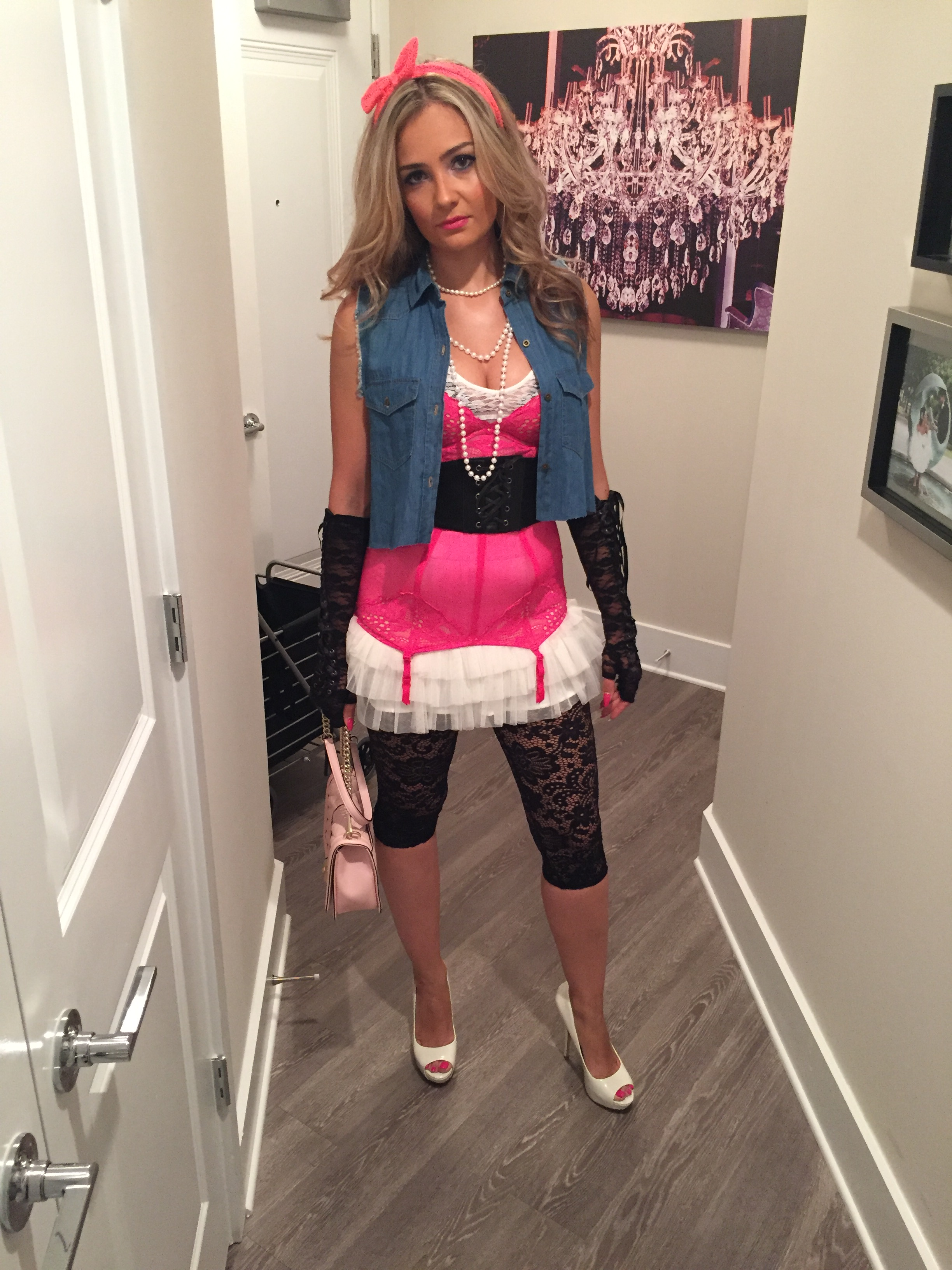 80s Madonna. Any 80s costume is usually easy ...  sc 1 st  Masha Gabriella : unique 80s costume ideas  - Germanpascual.Com